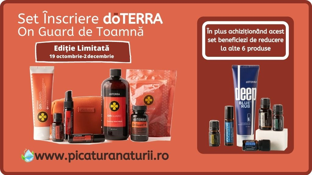 Set Inscriere doTerra On Guard Toamna