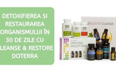Detoxifierea organismului în 30 de zile cu produse doTerra