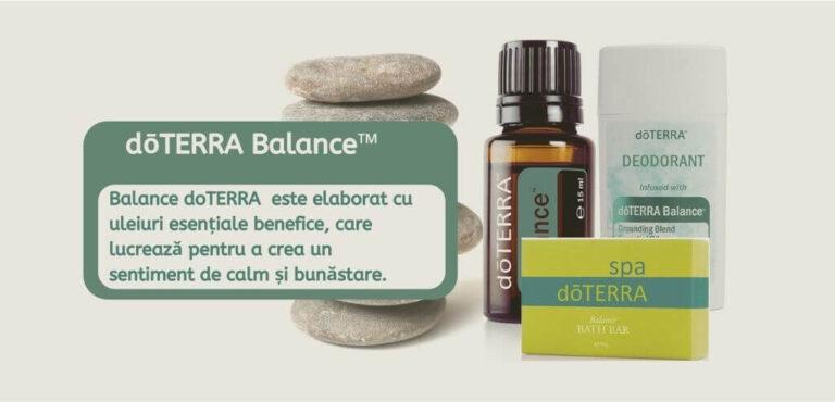 Balance doTerra Benficii Proprietăți și Utilizări
